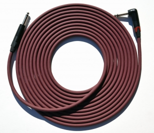 "Evidence Audio 20 foot Forte Instrument Cable Straight 1/4"" to Right Angle Plug (by E.A.R.S. PRO AUDIO)"
