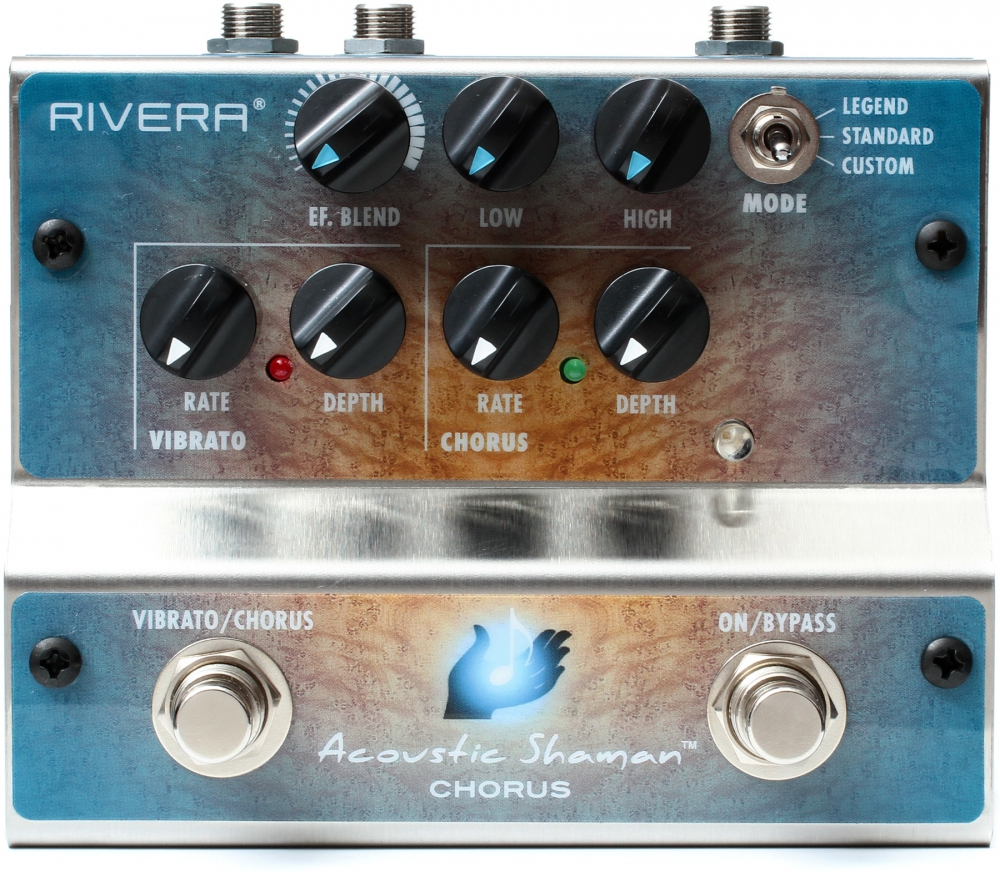 Rivera Acoustic Shaman Chorus Effects