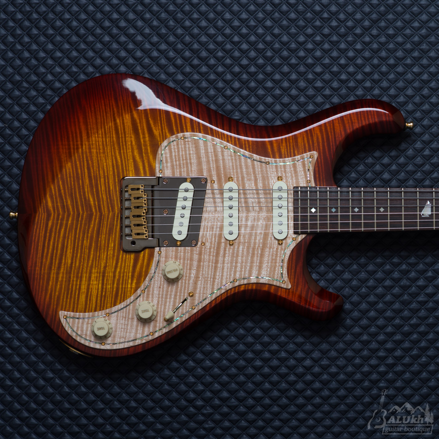 KNAGGS - Severn T1 Dark Cherry Burst