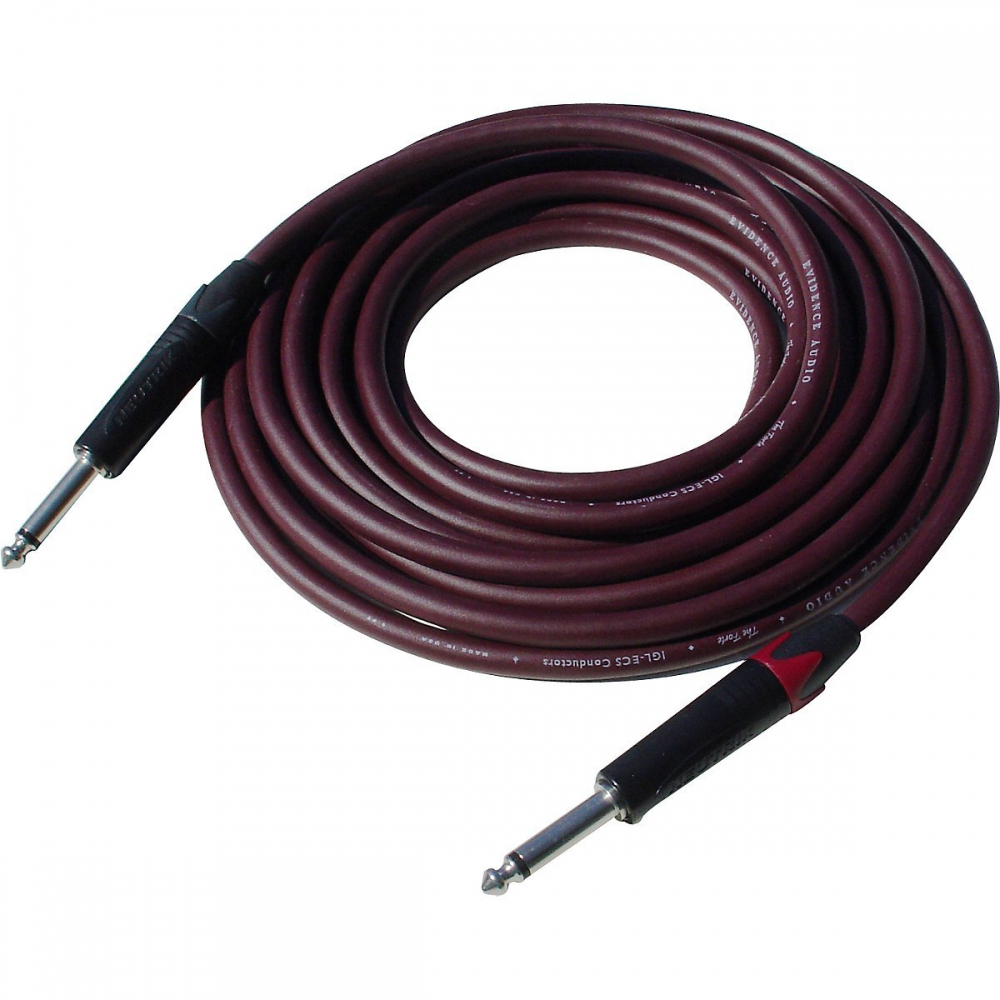 Evidence Audio The Forte Instrument Cable 15 foot Straight to Straight