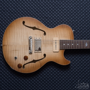 Гітара FIBENARE - Tom Quayle signature Single Cut Hollowbody Rahan